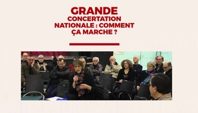 Grande concertation nationale : comment ça marche ?
