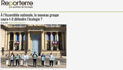 Article Reporterre du 20 mai 2020