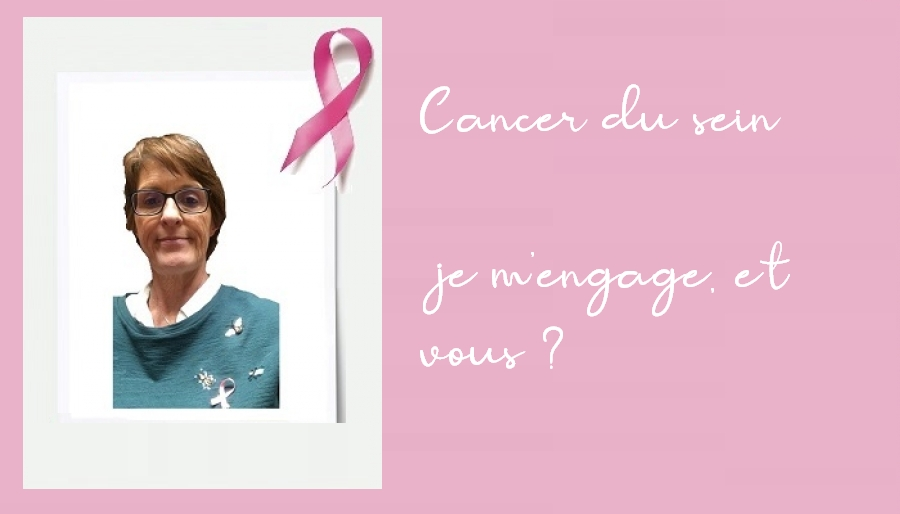 Dépistage du cancer du sein : je m'engage à faire passer le message. Et toi ?