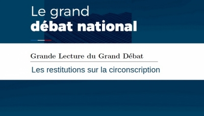 Grand Débat National : les restitutions sur la circonscription