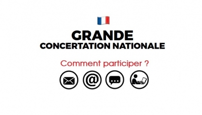Grande concertation nationale : comment participer ?